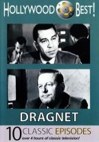 Hollywood Best!: Dragnet - 10 Classic Episodes