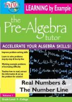 Pre-Algebra Tutor: Real Numbers & the Number Line