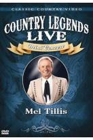 Country Legends Live Mel Tillis