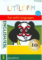 Little Pim: English/ESL, Vol. 3 - Playtime