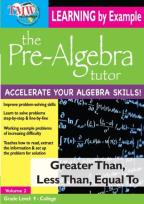 Pre-Algebra Tutor: Greater Than, Less Than, Equal To