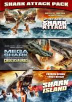 Mega Shark Versus Crocosaurus/2-Headed Shark Attack/Shark Island