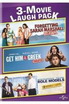 3-Movie Laugh Pack: Forgetting Sarah Marshall/Get Him to the Greek/Role Models