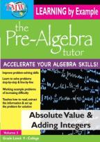 Pre-Algebra Tutor: Absolute Value & Adding Integers