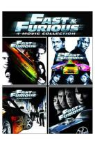 Fast And Furious 4-Movie Collection