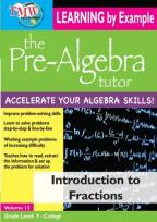 Pre-Algebra Tutor: Introduction to Fractions