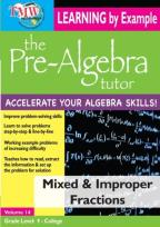 Pre-Algebra Tutor: Mixed & Improper Fractions