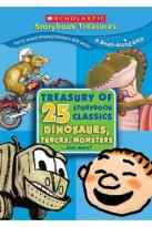 Treasury Of 25 Storybook Classics: Dinosaurs, Trucks & More