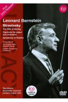 Leonard Bernstein: Stravinsky - The Rite of Spring/Capriccio for Piano & Orchestra/Symphony of Psalms