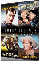 Cowboy Legends Collector's Set - 4 Films: John Wayne / Hopalong Cassidy / Roy Rogers / Gene Autry