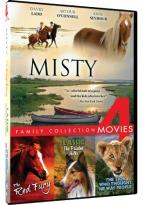 Misty/The Red Fury/Lassie: The Painted Hills/The Lion Who Thought He Was People