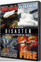 Disaster Collector's Set - 4 Films: Crash Landing / Nature Unleashed - Avalanche / Nature Unleashed - Earthquake / Nature Unleashed - Fire