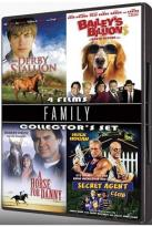 Family Collector's Set - 4 Films: The Derby Stallion / A Horse For Danny / Bailey's Billions / Secret Agent Club