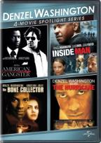 Denzel Washington: 4-Movie Spotlight Series