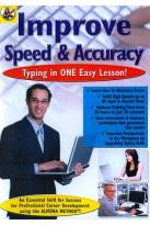 Improve Speed & Accuracy: Typing in One Easy Lesson!