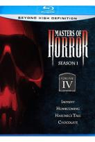 Masters of Horror Blu-ray - Season 1 Volume 4