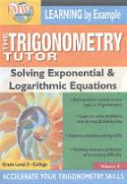 Trigonometry Tutor: Solving Exponential & Logarithmic Equations