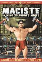 Maciste Double Feature: Maciste In King Solomon's Mines/Maciste Against Hercules in the Vale of Woe