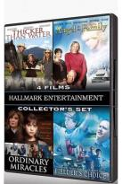 Hallmark Entertainment Collector's Set - 4 Films: Thicker Than Water / Angel In The Family / Ordinary Miracles / Fielder's Choice