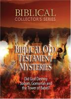 Biblical Collector's Series - Biblical Old Testament Mysteries