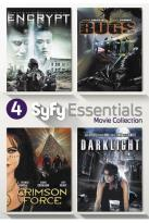 4 Syfy Essentials Movies Collection: Encrypt/Bugs/Crimson Force/Darklight