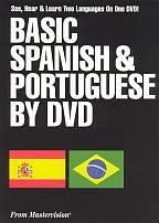 Basic Spanish & Portuguese on DVD