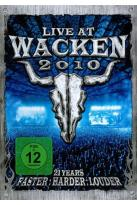 Live at Wacken 2010: 21 Years Faster, Harder, Louder