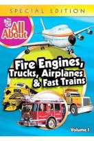 Best of the All Abouts - Fire Engines, Trucks, Trains and Airplanes