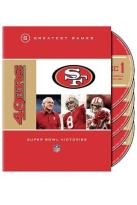 NFL San Francisco 49er - 5 Greatest Games Super Bowl Victories