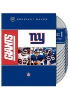 NFL New York Giants - 10 Greatest Games