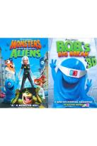 Monsters Vs. Aliens/B.O.B.'s Big Break Ginormous Double Pack