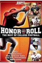 Espnu Honor Roll: The Best Of College Football - Vol. 3