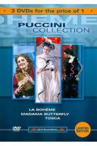 Puccini Collection: La Boheme/Madama Butterfly/Tosca