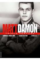 Matt Damon - Triple Feature