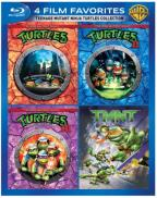 Teenage Mutant Ninja Turtles Collection: 4 Film Favorites