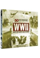 WWII: War in the Pacific/War in Europe - 50 Documentary Collection