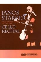 Janos Starker: Cello Recital