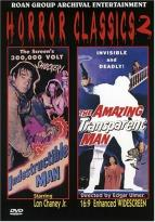 Horror Classics - The Amazing Transparent Man/The Indestructible Man