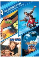 Jim Carrey Collection: 4 Film Favorites