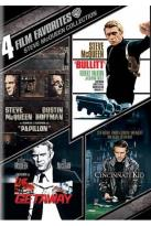 Steve McQueen Collection: 4 Film Favorites