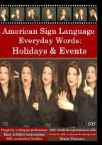 Holidays in American Sign Language, Vol. 1