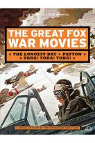 Great Fox War Movies - The Longest Day/Patton/Tora! Tora! Tora!