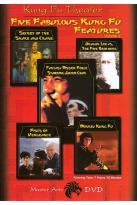 Kung Fu Theater - Five Fabulous Kung Fu Features Vol. 2