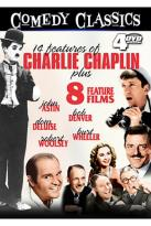 Comedy Classics - 14 Features of Charlie Chaplin Plus 8 Feature Films
