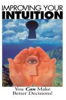 Improving Your Intuition
