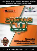 2002 At&T Rose Bowl National Championship
