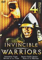 Invincible Warriors - 4 Movie Set: Screaming Tiger / Snake-Crane Secret / Return of the Tiger / Rage of the Masters