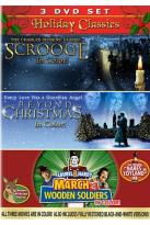Holiday Classics: Scrooge/Beyond Christmas/March of the Wooden Soldiers