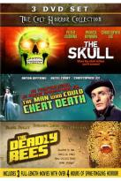 Cult Horror Collection: The Skull/The Man Who Could Cheat Death/The Deadly Bees