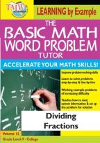 Basic Math Word Problem Tutor: Dividing Fractions